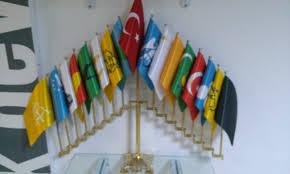 17 TÜRK Devlet Bayrakları